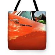 1969 Plymouth Road Runner 440 Roadrunner Tote Bag by Gordon Dean II