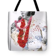 1973 Aloha Bald Headed Eagle Suit Tote Bag by Rob De Vries