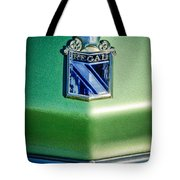 1973 Buick Regal Hood Ornament Tote Bag by Jill Reger
