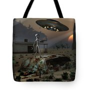 Artists Concept Of A Science Fiction Tote Bag by Mark Stevenson