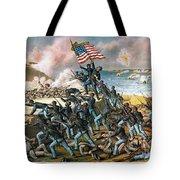 Battle Of Fort Wagner, 1863 Tote Bag by Granger