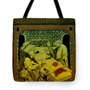 Butcher, Medieval Tradesman Tote Bag by Science Source