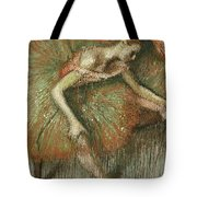 Dancers Tote Bag by Edgar Degas