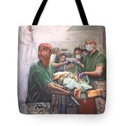 Hero Ascending Tote Bag by Todd Krasovetz