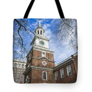 Independence Hall Tote Bag by John Greim