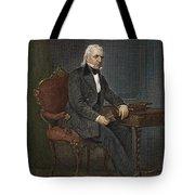 JAMES KNOX POLK (1795-1849) Tote Bag by Granger
