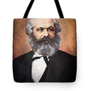 Karl Marx Tote Bag by Unknown