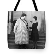 SILENT STILL: WEIGHT Tote Bag by Granger