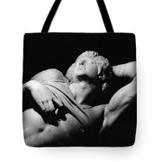 The Dying Slave Tote Bag by Michelangelo Buonarroti