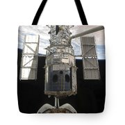 The Hubble Space Telescope Is Released Tote Bag by Stocktrek Images