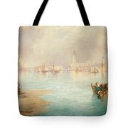Venice Tote Bag by Thomas Moran
