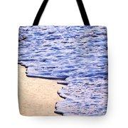 Waves Breaking On Tropical Shore Tote Bag by Elena Elisseeva