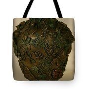 Wildflower Vase Detail Tote Bag by Dawn Senior-Trask