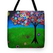 Tree Of Life Tote Bag by Pristine Cartera Turkus