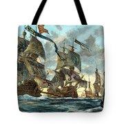 Spanish Armada (1588) Tote Bag by Granger