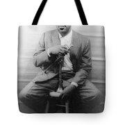 DIZZY GILLESPIE (1917-1993) Tote Bag by Granger