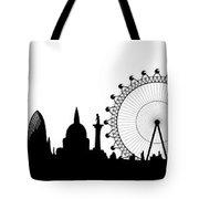 London Skyline Tote Bag by Michal Boubin