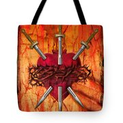 3 Of Swords Tote Bag by Tammy Wetzel