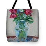 3 Roses Tote Bag by Paul Walsh