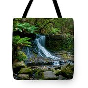 Waterfall In Deep Forest Tote Bag by Ulrich Schade