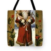 AMERICAN CHRISTMAS CARD Tote Bag by Granger