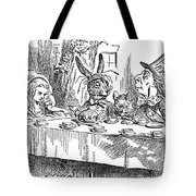 CARROLL: ALICE, 1865 Tote Bag by Granger