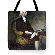 James Madison (1751-1836) Tote Bag by Granger
