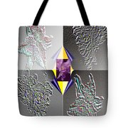 4 Points Of Interest Tote Bag by Brenda L Spencer
