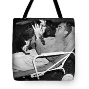 Richard Nixon (1913-1994) Tote Bag by Granger