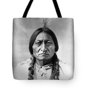 Sitting Bull (1834-1890) Tote Bag by Granger