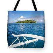 View Of Tahiti Tote Bag by Joe Carini - Printscapes
