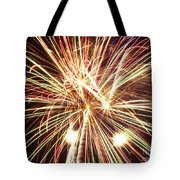 4th Of July Fireworks Tote Bag by Joe Carini - Printscapes
