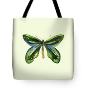 6 Queen Alexandra Butterfly Tote Bag by Amy Kirkpatrick