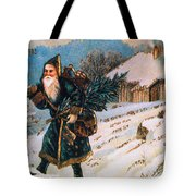 Christmas Card Tote Bag by Granger