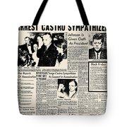 John F. Kennedy (1917-1963) Tote Bag by Granger
