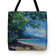7-Mile Beach Tote Bag by John Clark