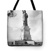 Statue Of Liberty, 1886 Tote Bag by Granger