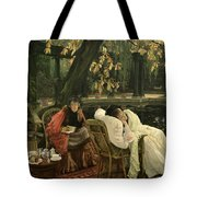 A Convalescent Tote Bag by James Jacques Joseph Tissot