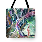 A Dying Tree Tote Bag by Mindy Newman