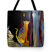 A Friend In The Dark Tote Bag by Miki De Goodaboom