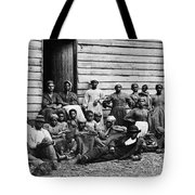 A Group Of Slaves Tote Bag by Photo Researchers
