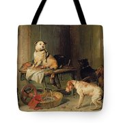 A Jack In Office Tote Bag by Sir Edwin Landseer