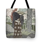 A Musician Tote Bag by Eugene Grasset
