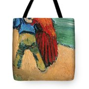 A Pair Of Lovers Tote Bag by Vincent Van Gogh