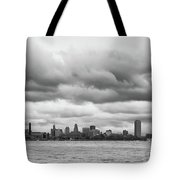 A Rotten Day In Buffalo  9230 Tote Bag by Guy Whiteley