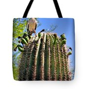 A Spiky Home Tote Bag by Christine Till