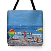 A Summer Tote Bag by Laura Lee Zanghetti