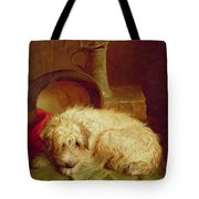 A Terrier Tote Bag by John Fitz Marshall