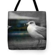 A Touch Of Blue Tote Bag by Susanne Van Hulst