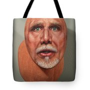 A Trophied Artist Tote Bag by James W Johnson